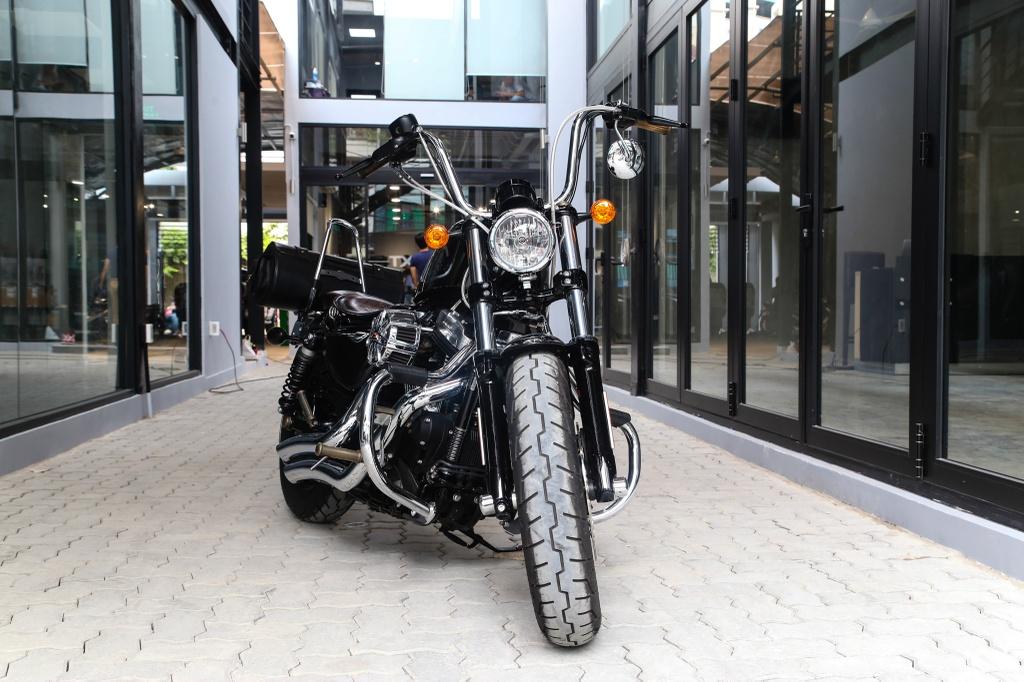 Harley-Davidson Sportster Forty-Eight do cua biker Sai Gon hinh anh 2