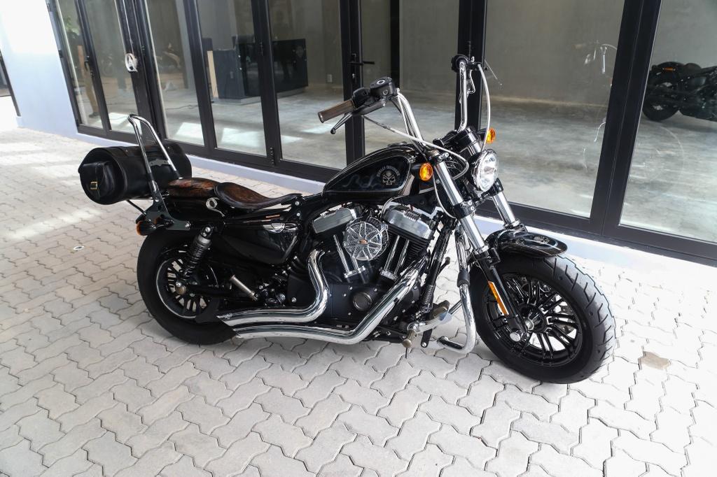 Harley-Davidson Sportster Forty-Eight do cua biker Sai Gon hinh anh 8