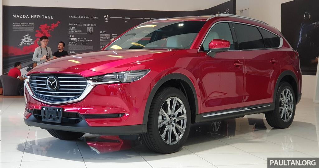 SUV 7 cho Mazda CX-8 2019 ra mat tai Dong Nam A hinh anh 1
