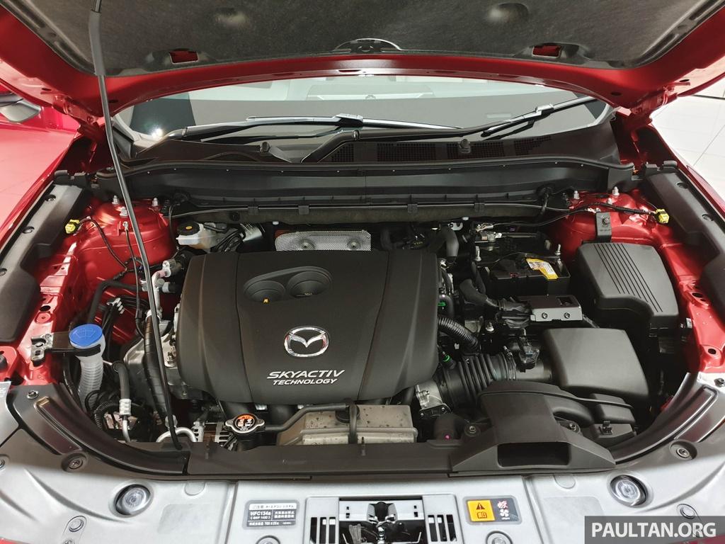 SUV 7 cho Mazda CX-8 2019 ra mat tai Dong Nam A hinh anh 3