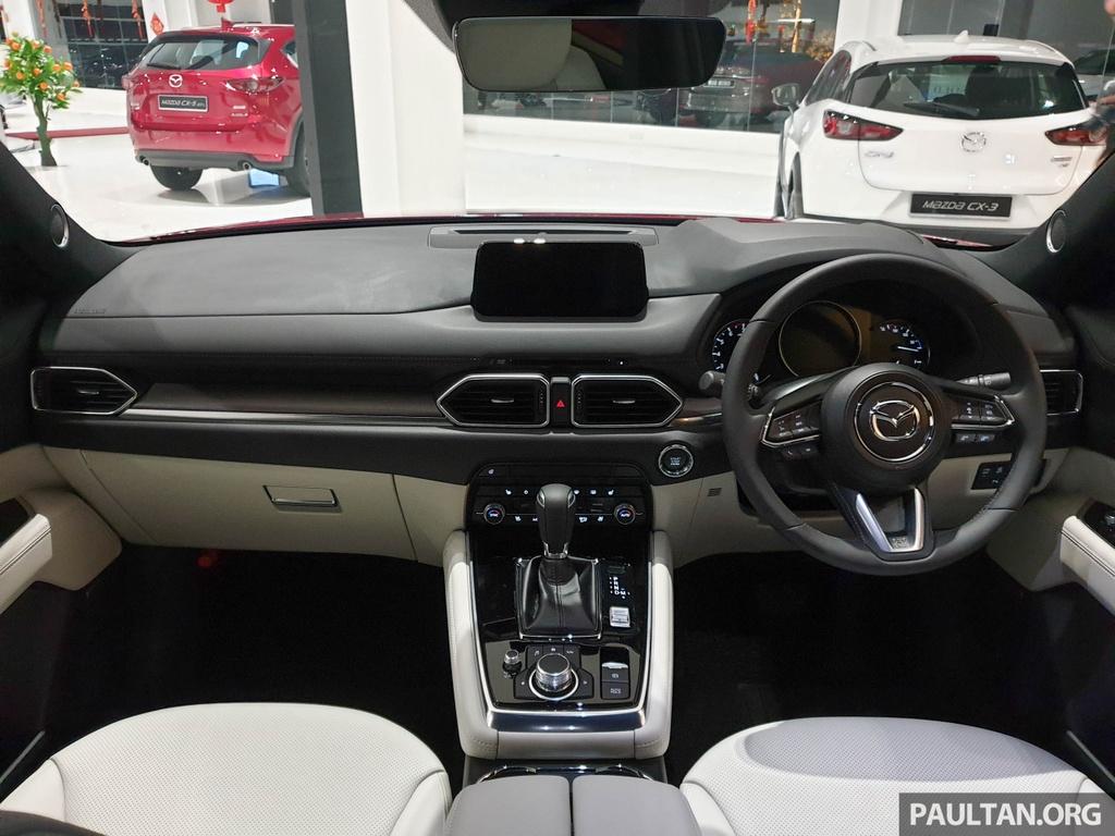 SUV 7 cho Mazda CX-8 2019 ra mat tai Dong Nam A hinh anh 6