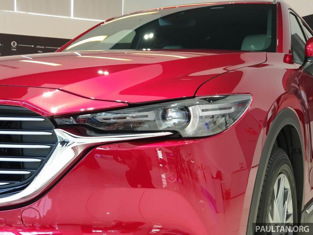 SUV 7 cho Mazda CX-8 2019 ra mat tai Dong Nam A hinh anh 4