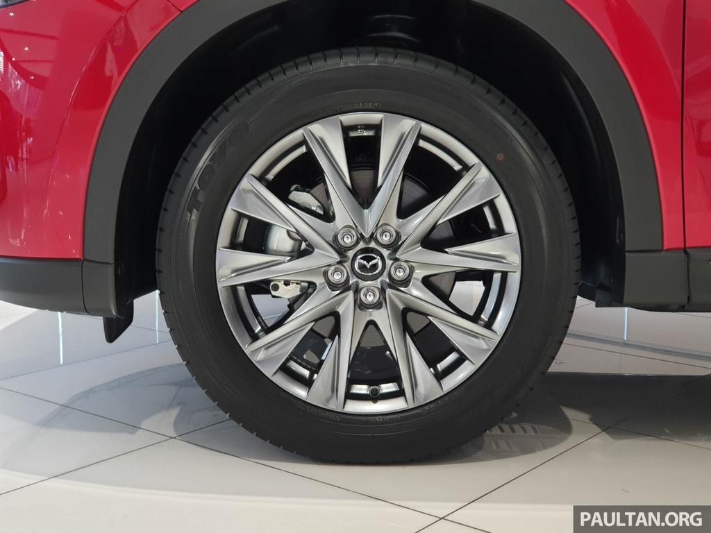 SUV 7 cho Mazda CX-8 2019 ra mat tai Dong Nam A hinh anh 5