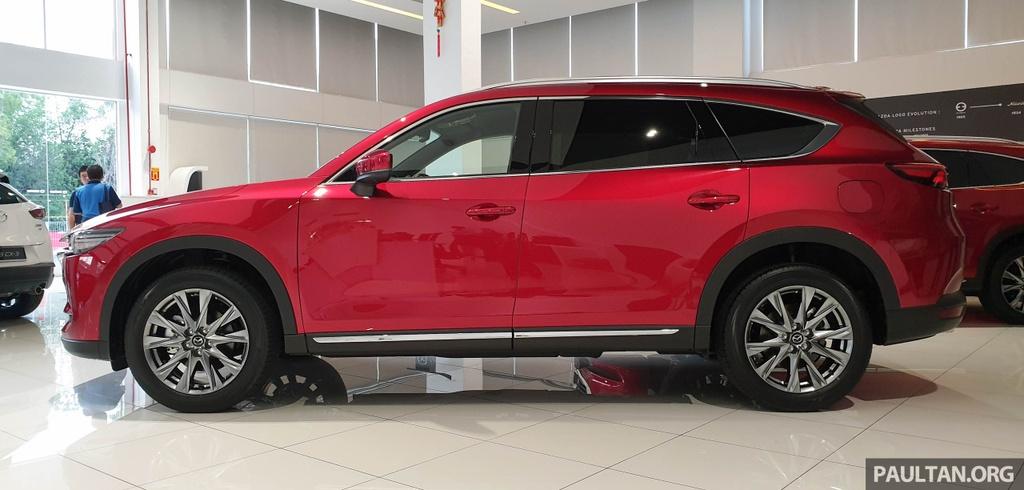 SUV 7 cho Mazda CX-8 2019 ra mat tai Dong Nam A hinh anh 8