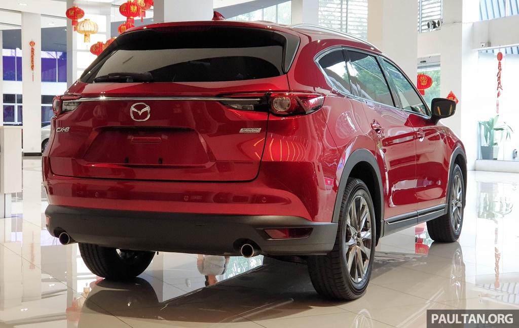 SUV 7 cho Mazda CX-8 2019 ra mat tai Dong Nam A hinh anh 11