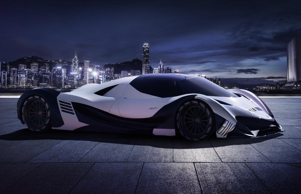 Can canh 'Ac quy' Devel Sixteen manh gap 3 lan Bugatti Chiron hinh anh 5
