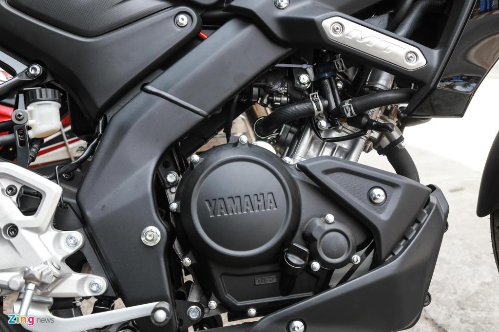 Chi tiet 'chien binh' Yamaha MT-15 vua ve VN, gia 79 trieu dong hinh anh 9