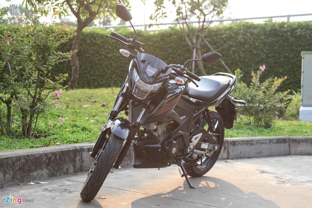 Suzuki GSX150 Bandit va Yamaha MT-15 - cuoc chien nakedbike 150 cc hinh anh 1