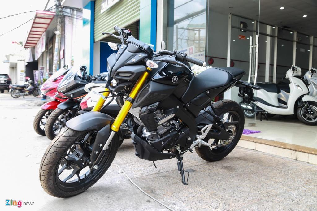 Suzuki GSX150 Bandit va Yamaha MT-15 - cuoc chien nakedbike 150 cc hinh anh 2