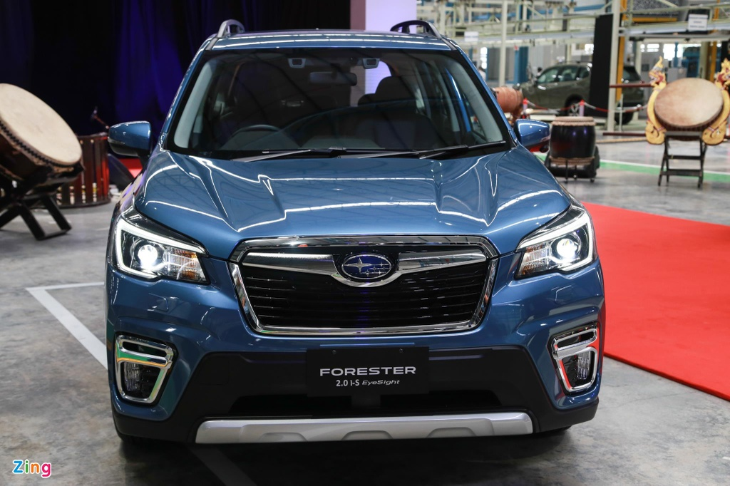 Chi tiet Subaru Forester sap cap ben VN anh 3