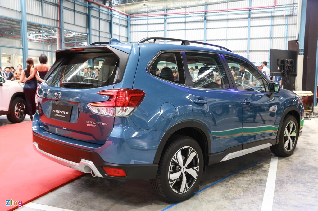 Chi tiet Subaru Forester sap cap ben VN anh 4