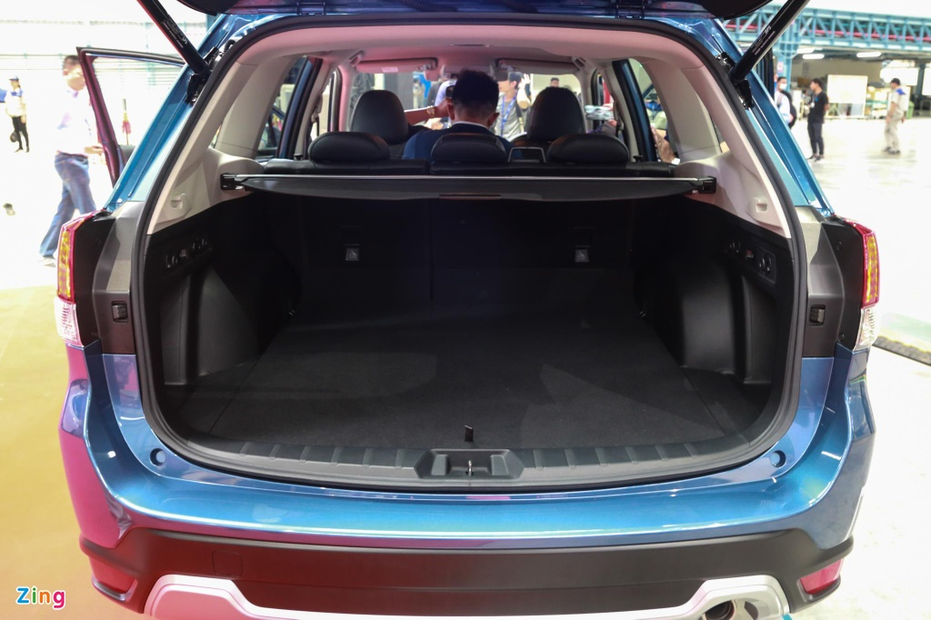 Chi tiet Subaru Forester sap cap ben VN anh 11