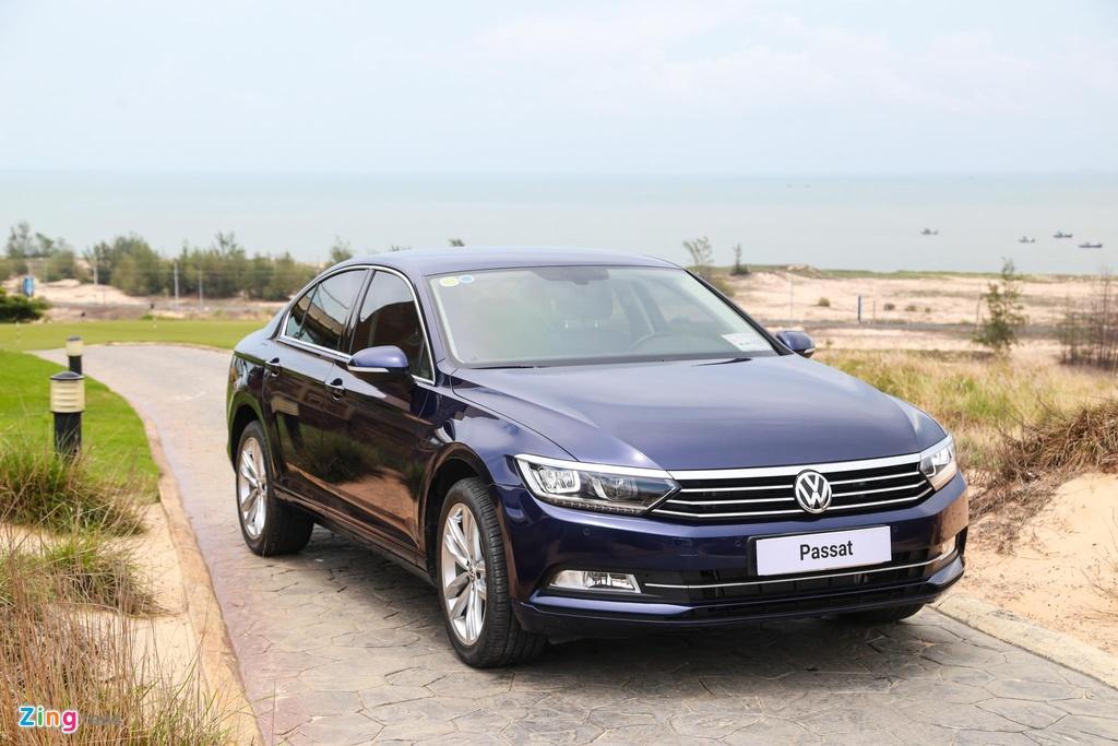 Danh gia Volkswagen Passat BlueMotion anh 3