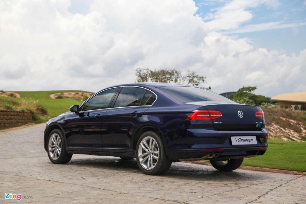 Danh gia Volkswagen Passat BlueMotion anh 7