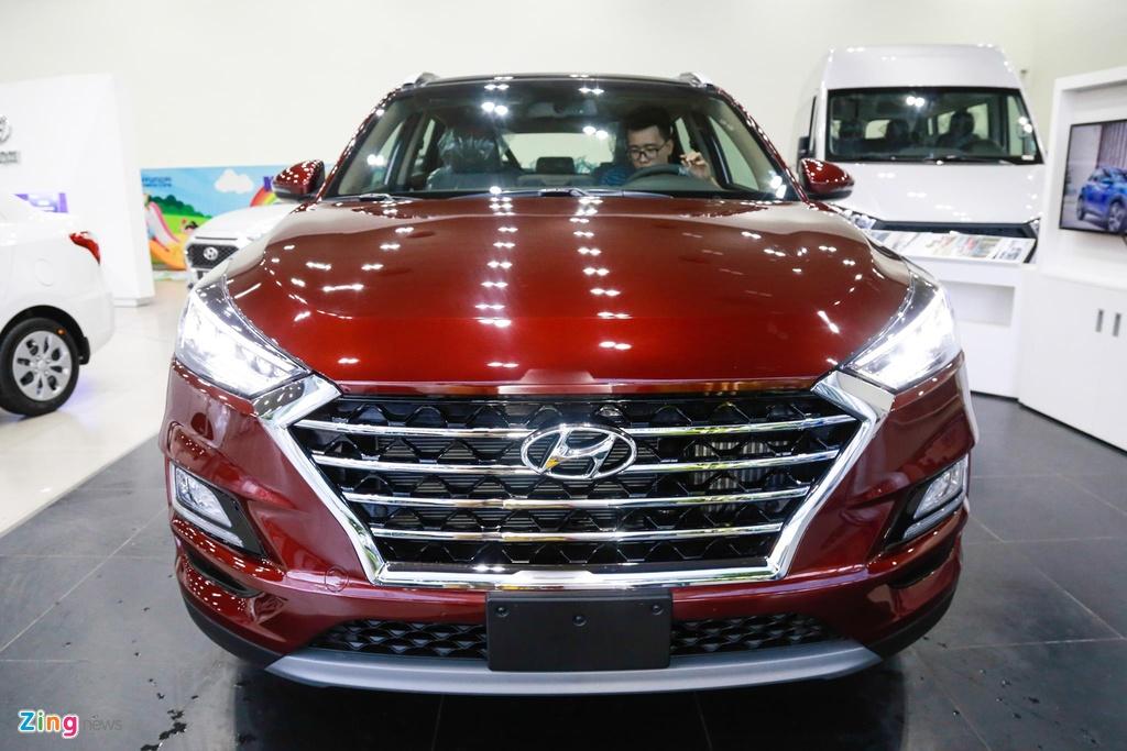 Can canh Hyundai Tucson 2019 - thay ngoai hinh, tang gia ban hinh anh 3