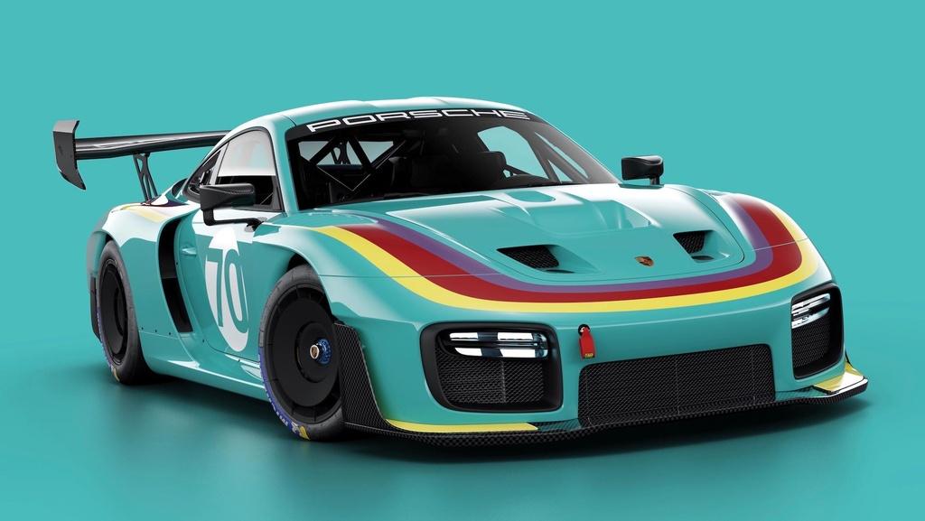 Sieu xe dua Porsche 935 co 7 dien mao moi, gioi han 77 chiec hinh anh 6