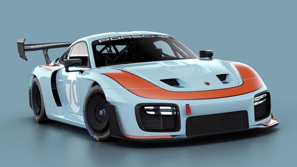 Sieu xe dua Porsche 935 co 7 dien mao moi, gioi han 77 chiec hinh anh 3