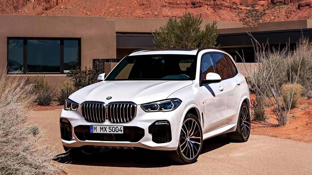 BMW X7, Mercedes-Benz GLE va nhieu mau xe sang ruc rich cap ben VN hinh anh 4