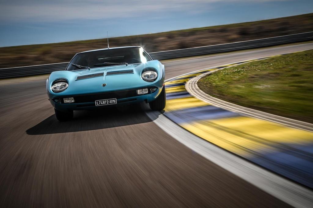Sieu xe Lamborghini Miura doi 1971 hoi sinh nhu moi hinh anh 1