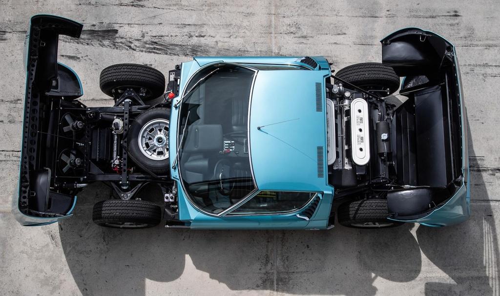 Sieu xe Lamborghini Miura doi 1971 hoi sinh nhu moi hinh anh 7