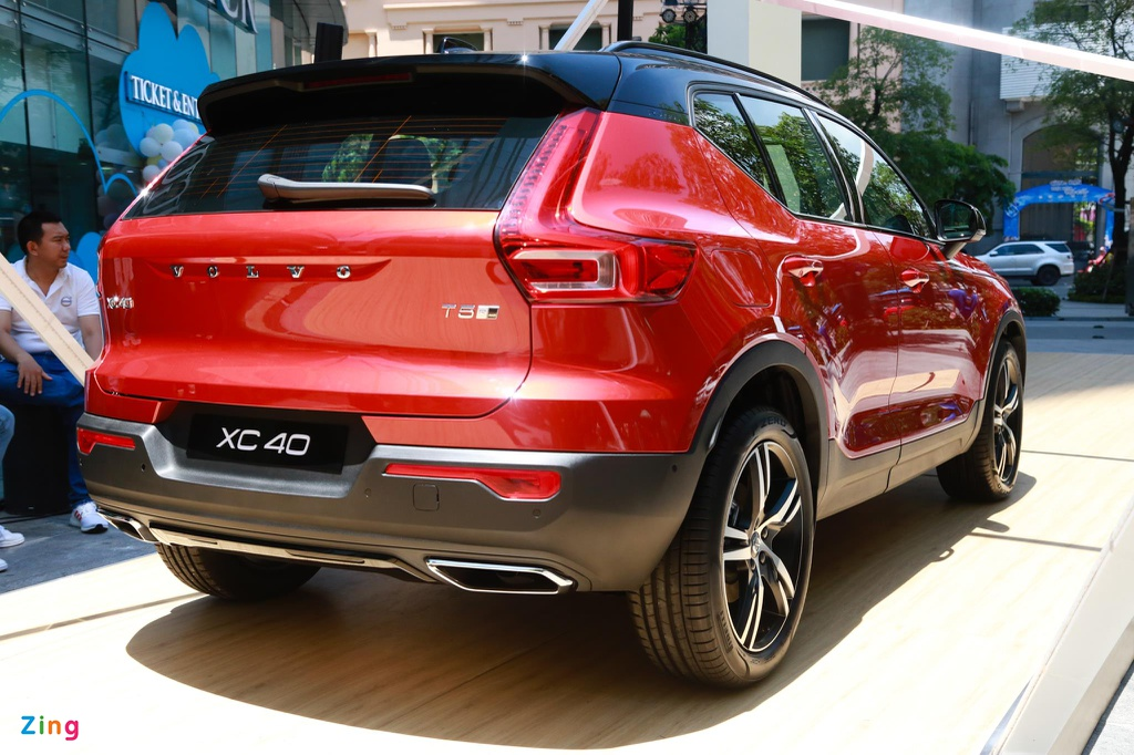 Chi tiet Volvo XC40 gia 1,75 ty dong, canh tranh Mercedes-Benz GLA hinh anh 13