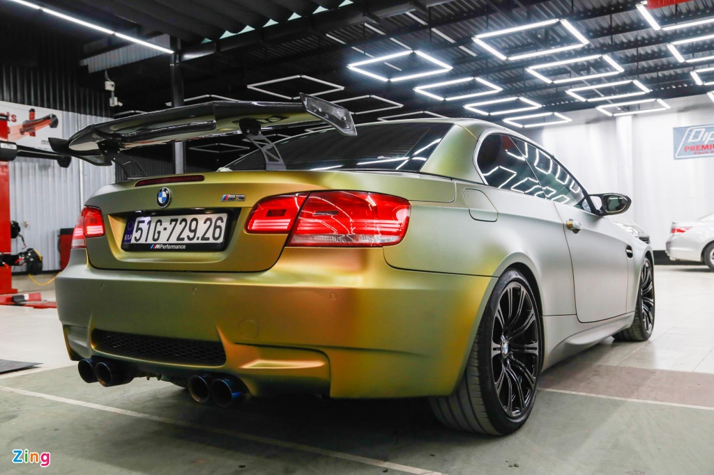 BMW M3 E93 Convertible do supercharge cua 'dan choi' Sai Gon hinh anh 2