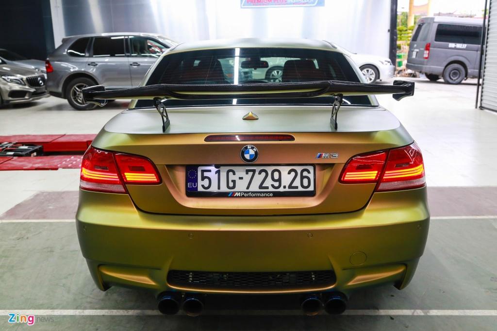 BMW M3 E93 Convertible do supercharge cua 'dan choi' Sai Gon hinh anh 9