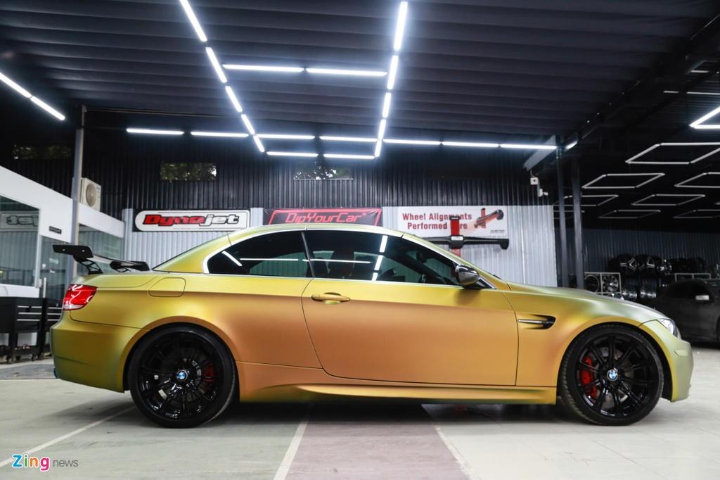 BMW M3 E93 Convertible do supercharge cua 'dan choi' Sai Gon hinh anh 8