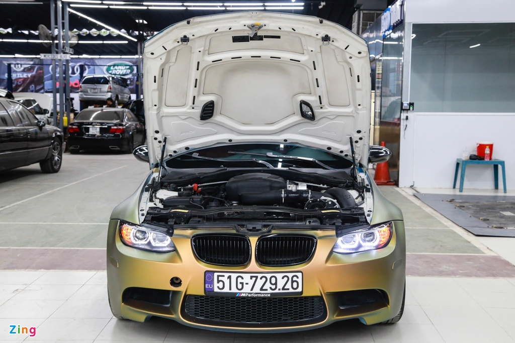 BMW M3 E93 Convertible do supercharge cua 'dan choi' Sai Gon hinh anh 5