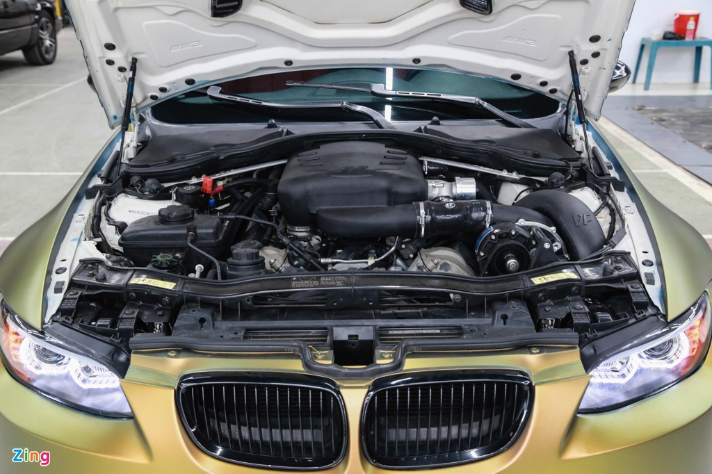 BMW M3 E93 Convertible do supercharge cua 'dan choi' Sai Gon hinh anh 7