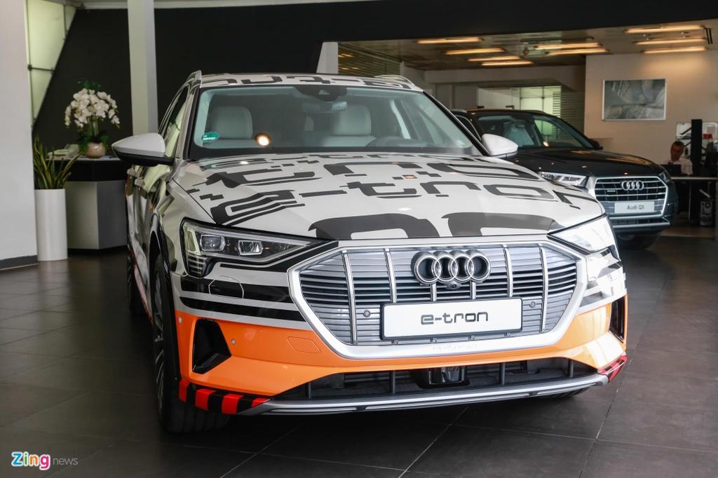 Can canh SUV dien Audi e-tron dau tien xuat hien tai VN hinh anh 15