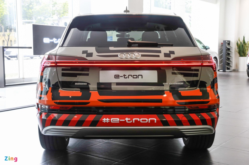 Can canh SUV dien Audi e-tron dau tien xuat hien tai VN hinh anh 10
