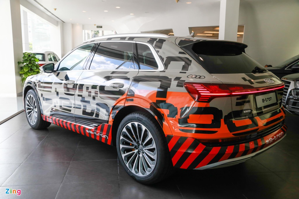 Can canh SUV dien Audi e-tron dau tien xuat hien tai VN hinh anh 9