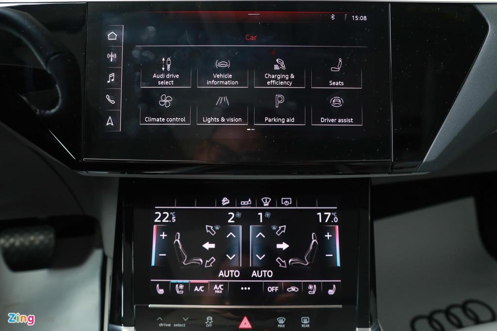 Can canh SUV dien Audi e-tron dau tien xuat hien tai VN hinh anh 13