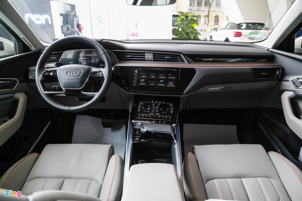 Can canh SUV dien Audi e-tron dau tien xuat hien tai VN hinh anh 11