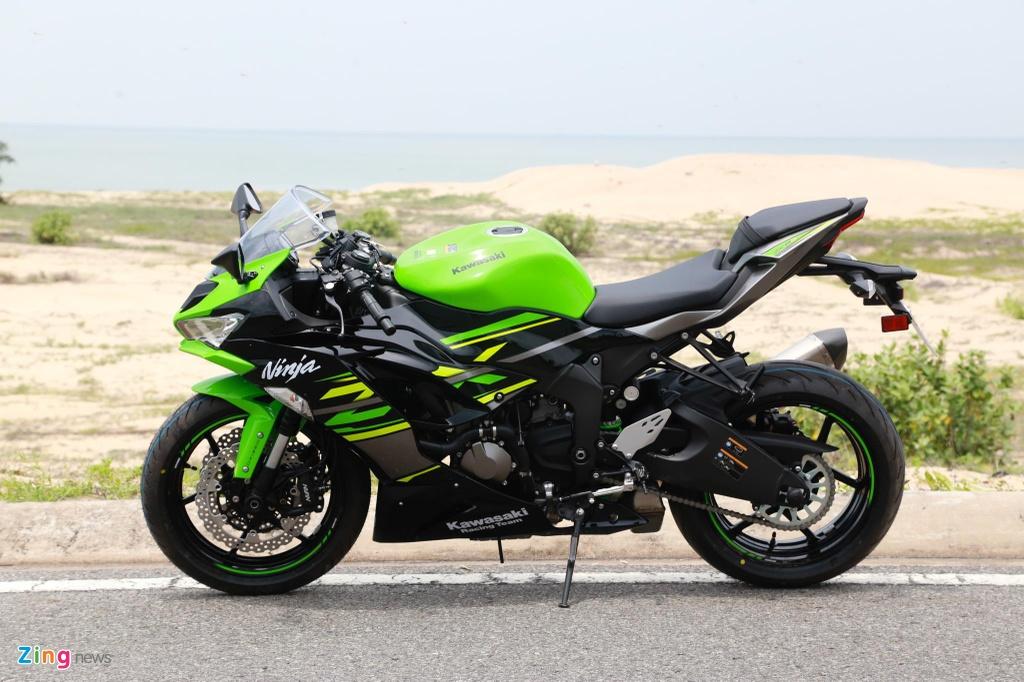 Kawasaki Ninja ZX-6R the he moi tai VN anh 9
