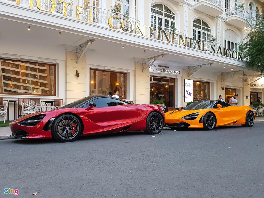 Bo doi sieu xe McLaren 720S xuong pho anh 1
