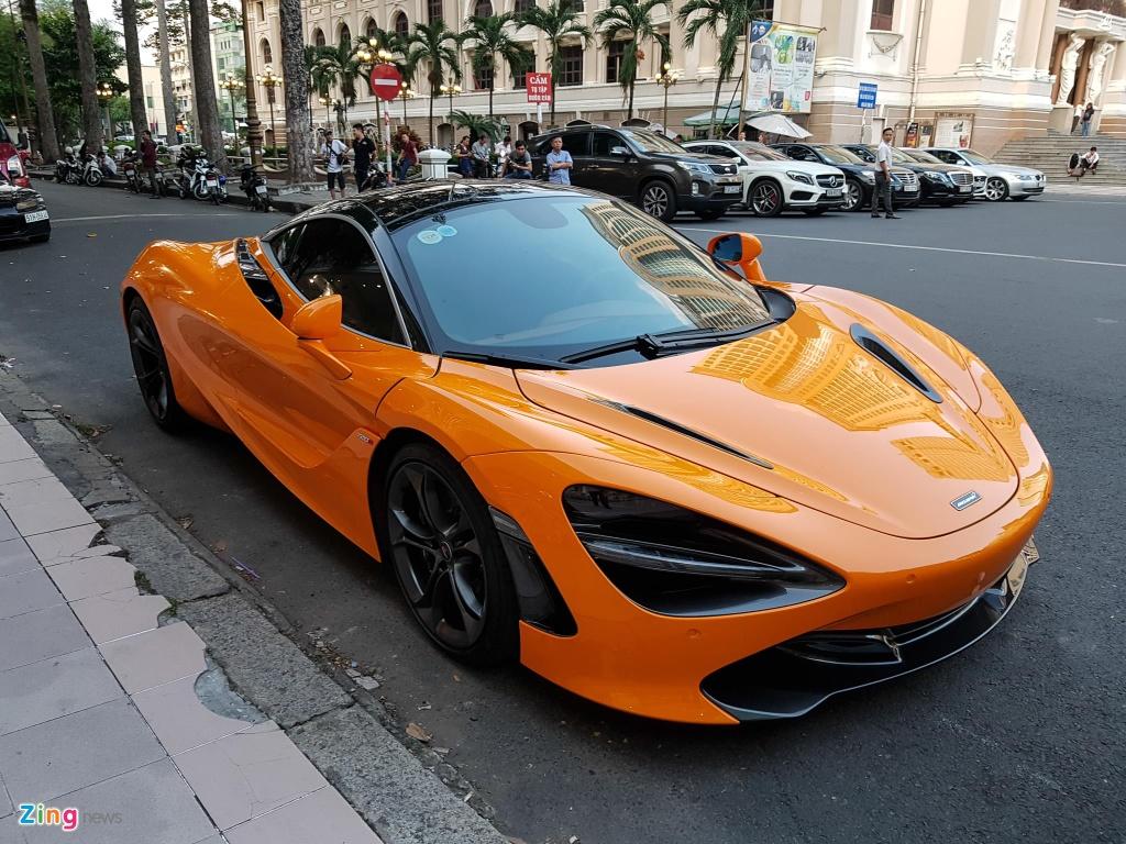 Bo doi sieu xe McLaren 720S xuong pho anh 5