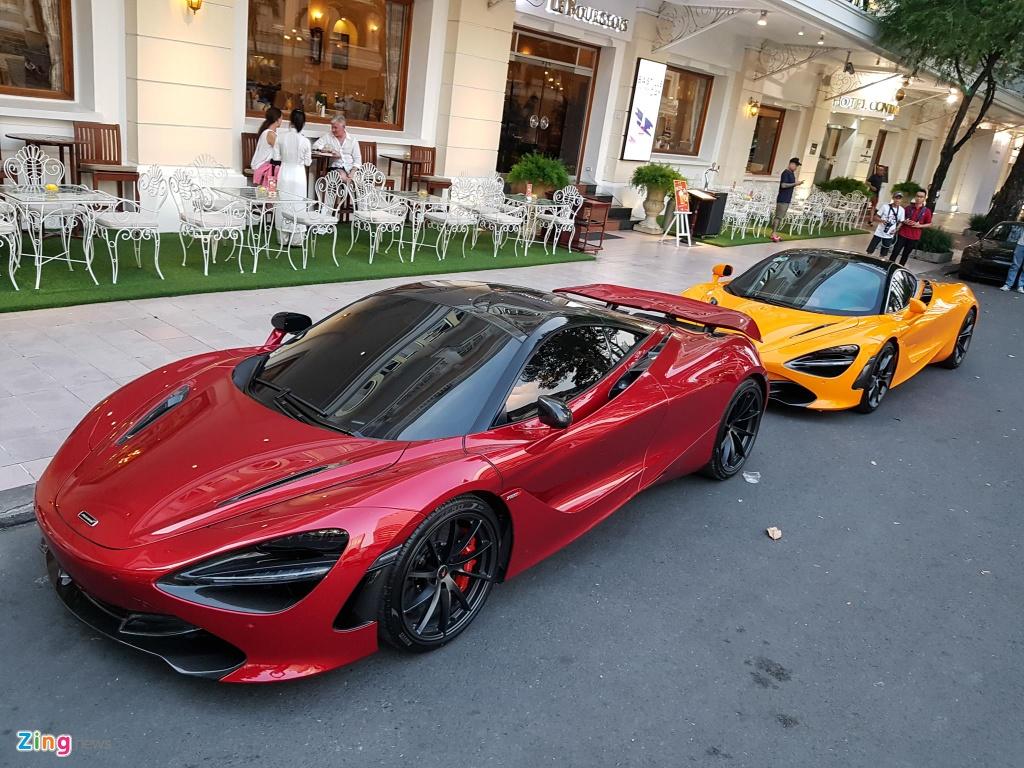 Bo doi sieu xe McLaren 720S xuong pho anh 3
