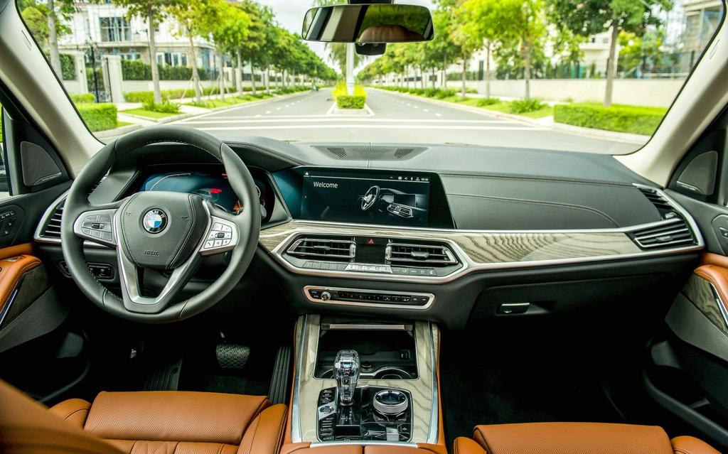 So sanh BMW X7 va Mercedes-Benz GLS anh 7