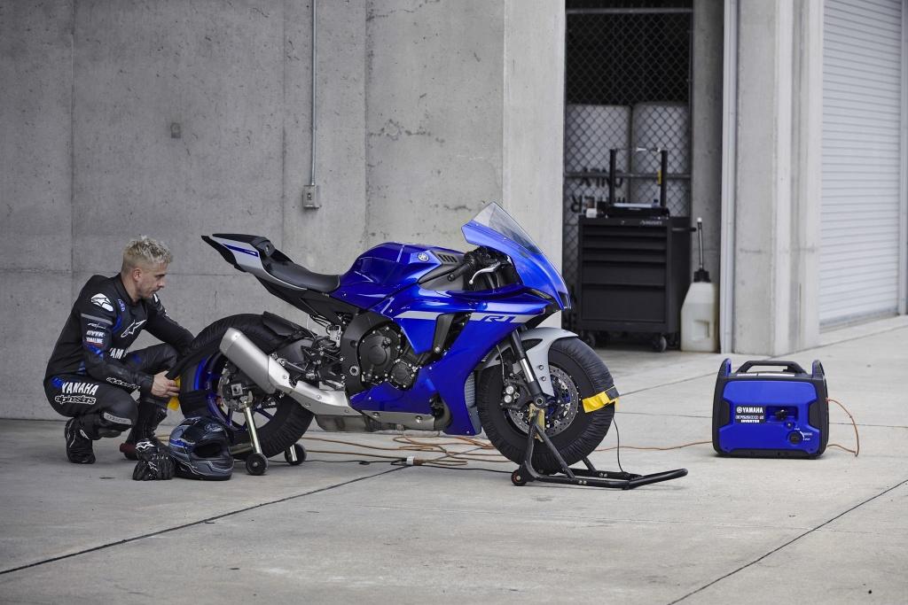 Yamaha YZF-R1 2020 chinh thuc lo dien, giong het R6 hinh anh 4