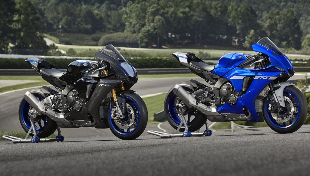 Yamaha YZF-R1 2020 chinh thuc lo dien, giong het R6 hinh anh 1