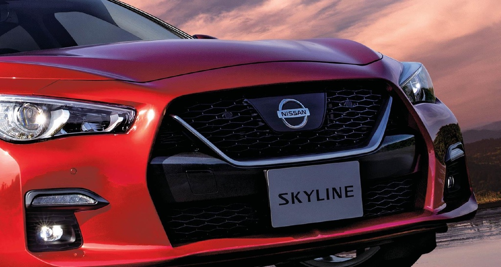 Nissan Skyline facelift 2019 ra mat anh 2