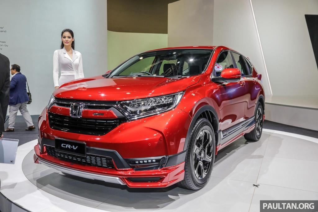 Bản đặc biệt Honda CR-V Mugen giới hạn 300 chiếc, giá hơn 37.000 USD