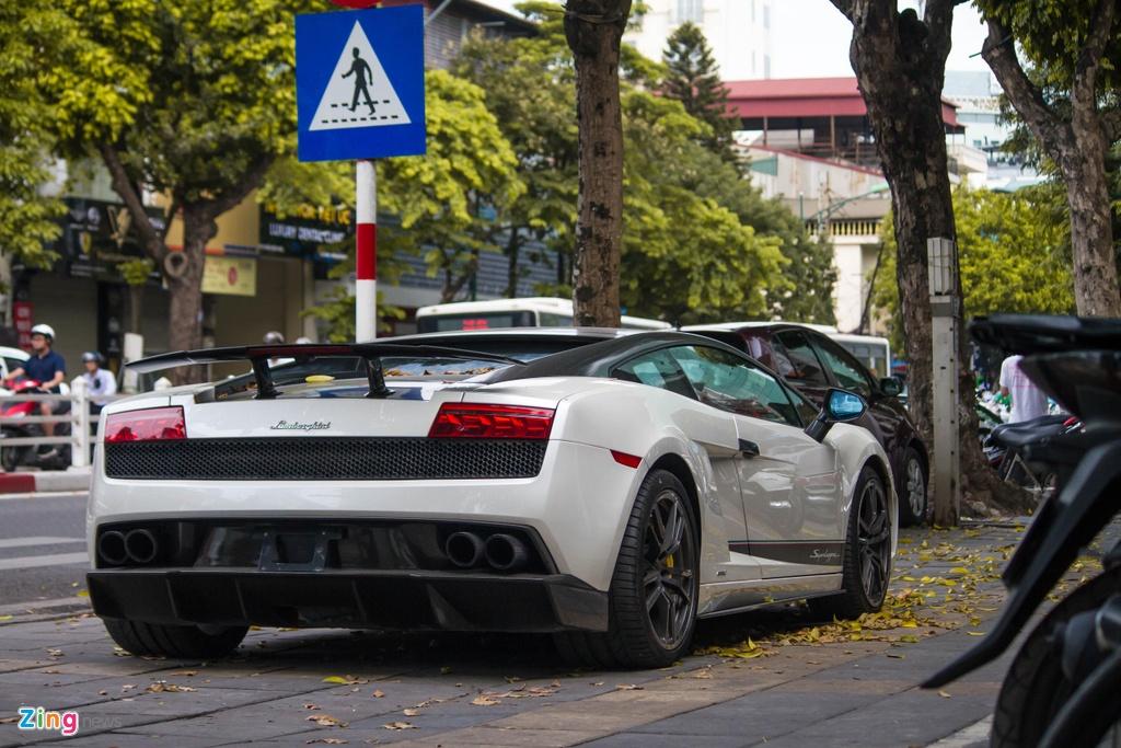 Sieu xe hang hiem Lamborghini Gallardo Superleggera tai xuat anh 2