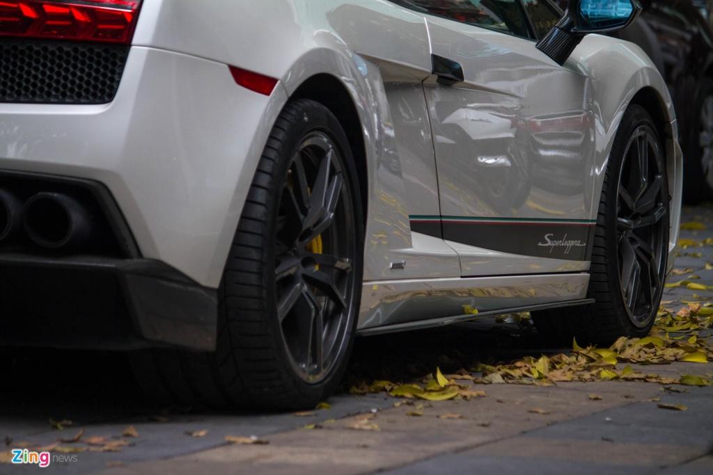 Sieu xe hang hiem Lamborghini Gallardo Superleggera tai xuat anh 5