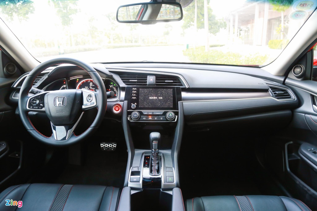 So sanh Honda Civic RS va Hyundai Elantra Sport anh 10