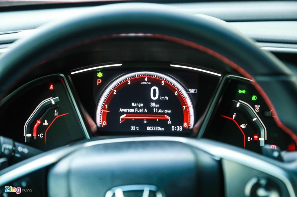 So sanh Honda Civic RS va Hyundai Elantra Sport anh 12