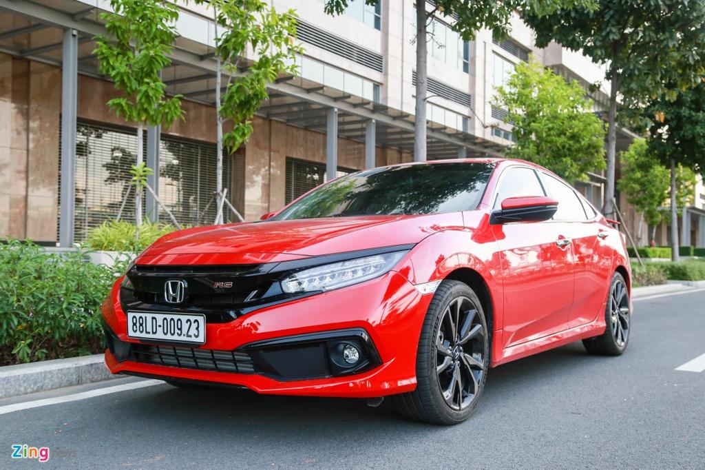 So sanh Honda Civic RS va Hyundai Elantra Sport anh 1