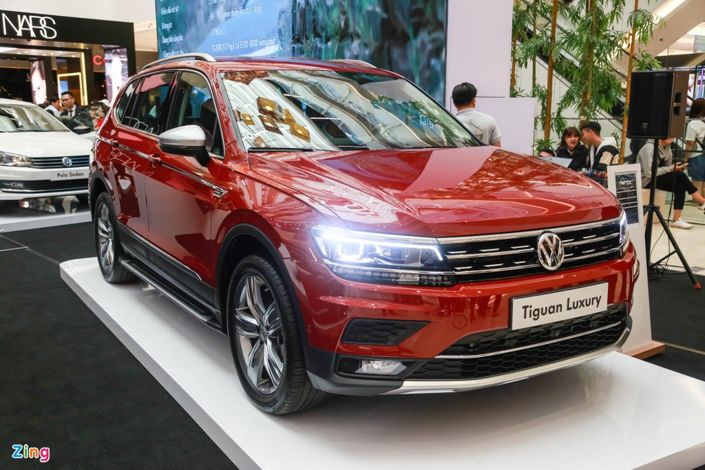 Volkswagen Tiguan Allspace ban cao cap nhat ra mat VN, gia 1,85 ty hinh anh 1